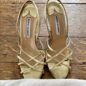 Manolo Blahnik princess heel